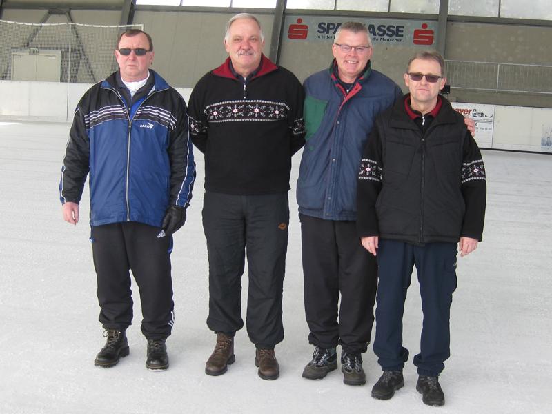 Stadtmeisterschaft Winter Senioren 2014 3. Platz
