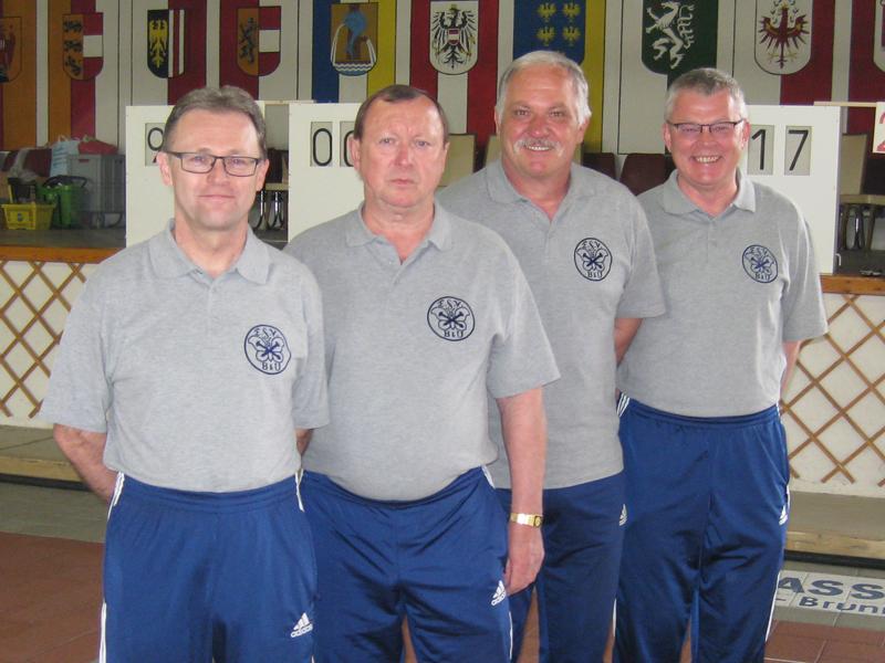 Seniorenquali Süd Südost Mannschaft