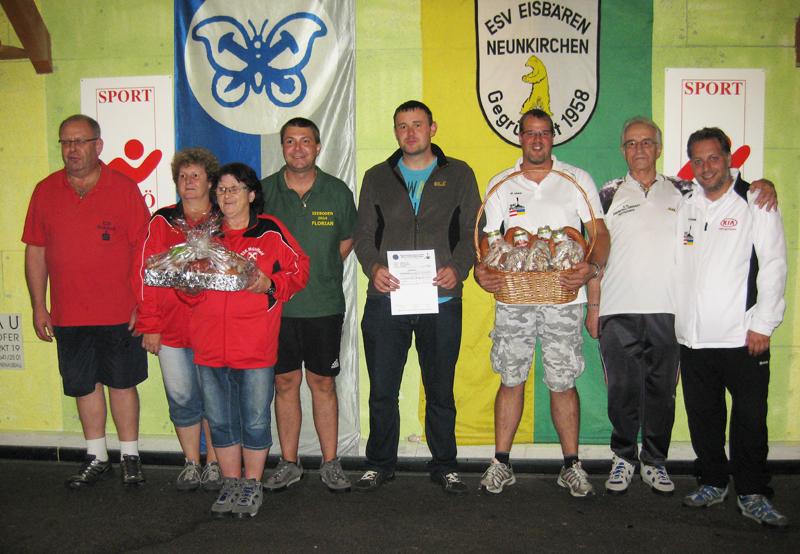 1. Herbstturnier 2014 Mannschaft