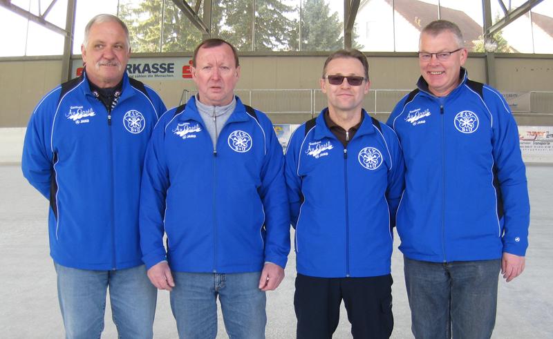 Seniorenstadtmeister Winter 2015 Mannschaft