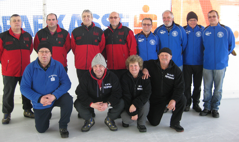 Stadtmeisterschaft allgem. klasse Winter 2015 Mannschaft 3