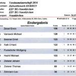 Zielwettbewerb Herren VM 2016