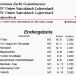 ESV Union Natschbach Lpsb Ergebnis 1